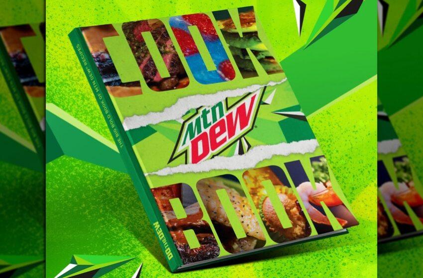 Il nuovo libro di ricette di Mountain Dew!