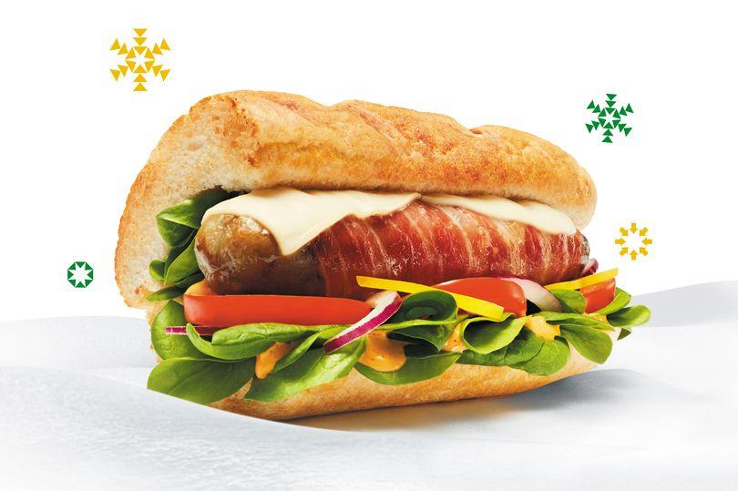 Il menu natalizio di Subway UK