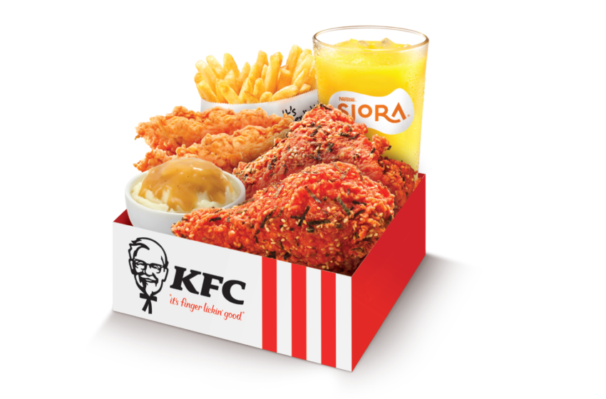KFC Singapore lancia un nuovo menu per le feste