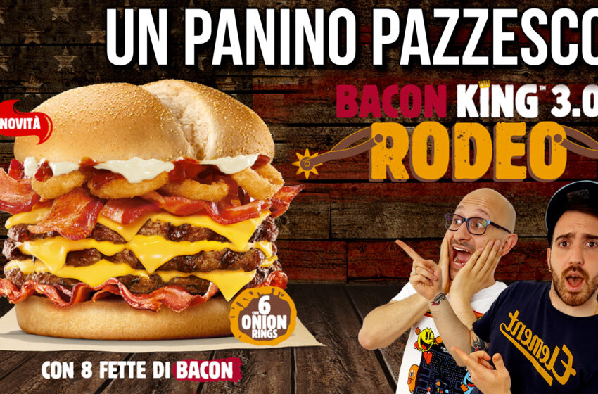 BACON KING RODEO di BURGER KING!