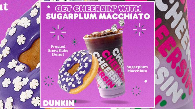 Una nuova limited edition natalizia per Dunkin Donuts