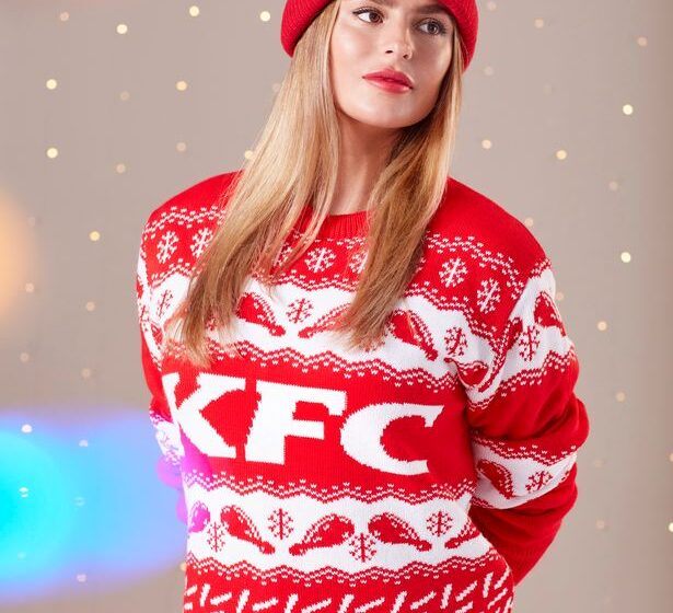 KFC UK lancia il suo primo merch natalizio