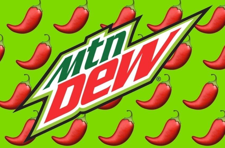Mountain Dew lancia la sua salsa piccante