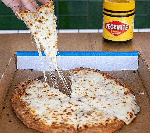 Domino's Australia crea una pizza con la Vegemite