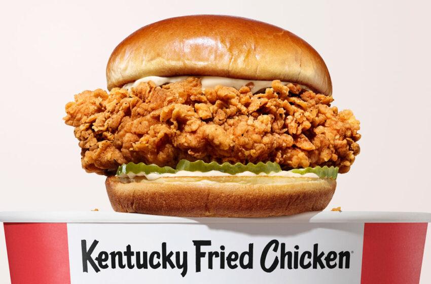 KFC America lancia un nuovo Chicken Sandwich