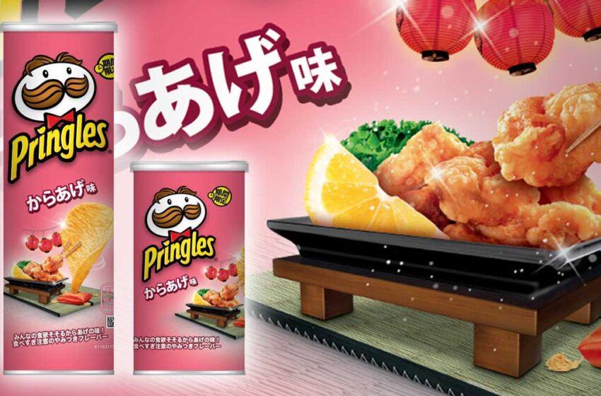 Pringles Giappone sceglie il Karaage per una nuova limited edition