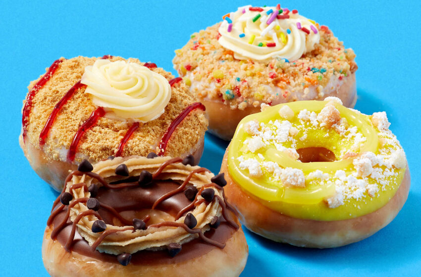 Krispy Kreme celebra il 2021 con dei mini donuts