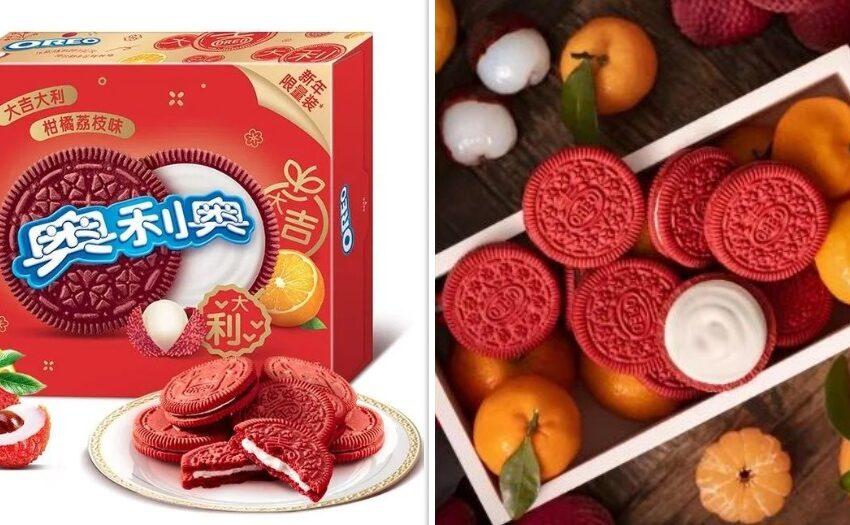 In Cina arrivano i nuovi Oreo al gusto litchi e mandarino