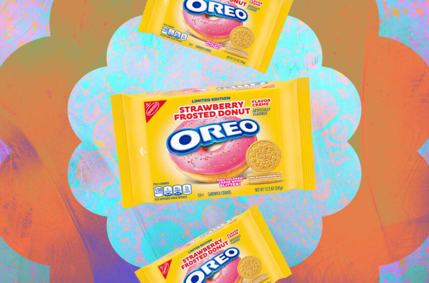 Oreo annuncia l'uscita del gusto Donut alla fragola