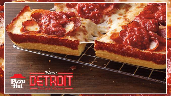 Pizza Hut lancia la sua Detroit-Style Pizza in quattro versioni