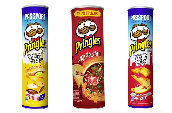 Le nuove Pringles limited edition dal mondo