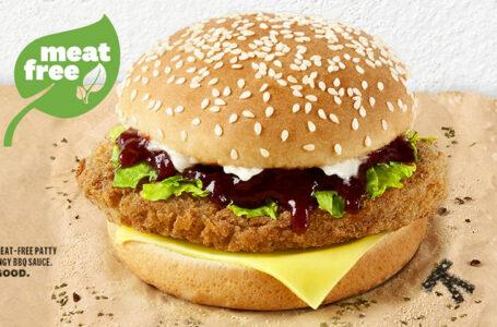 KFC Singapore lancia il suo primo panino meat-free
