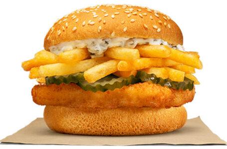 Burger King Nuova Zelanda lancia un panino ispirato al Fish & Chips