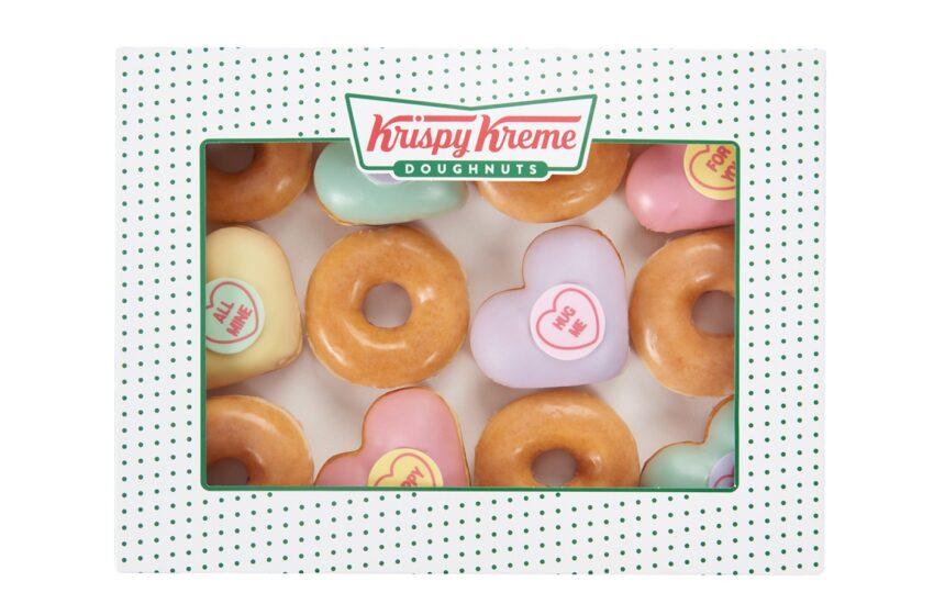 Krispy Kreme UK crea una limited edition per il giorno di San Valentino