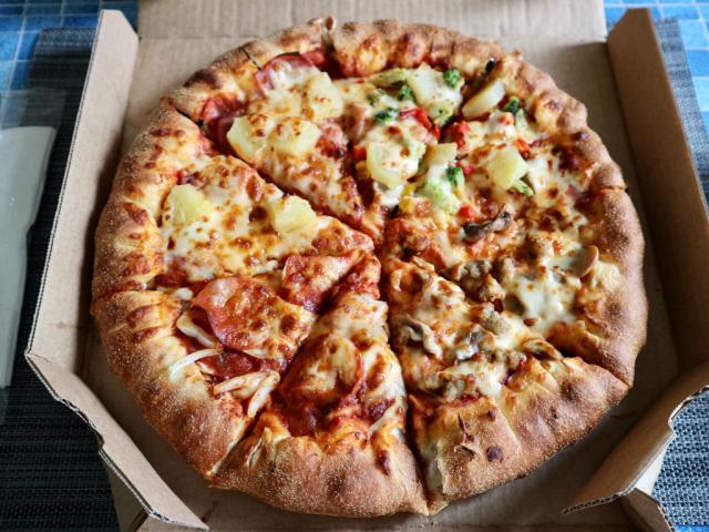 Domino's Pizza Taiwan lancia una pizza con la tapioca