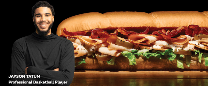 Subway collabora con le star NBA per il lancio di due nuovi sandwich