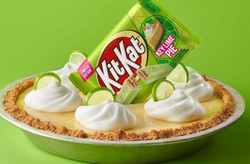La Key Lime Pie si trasforma in deliziose barrette Kit Kat