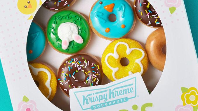 Krispy Kreme celebra l'arrivo della primavera con una limited edition
