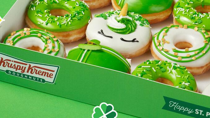 Krispy Kreme lancia una limited edition portafortuna per il giorno di San Patrizio