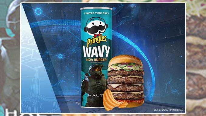 Pringles lancia un gusto ispirato al gioco di Halo