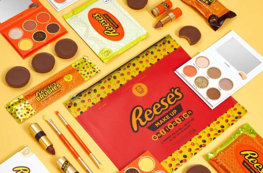 La prima linea di cosmetici ispirata ai Reese's
