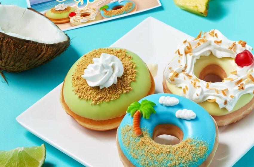 Krispy Kreme celebra l'arrivo dell'estate con una limited edition