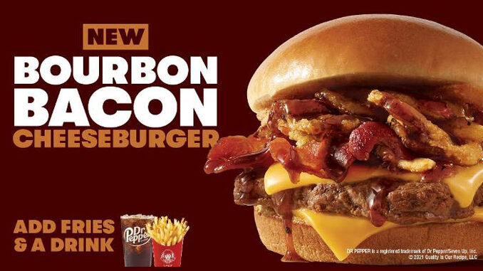 Wendy's lancia un nuovo cheeseburger con bourbon e bacon