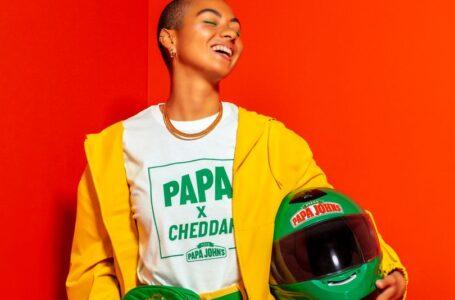 Papa John's realizza una linea di abbigliamento ispirata ai Pizza Drivers