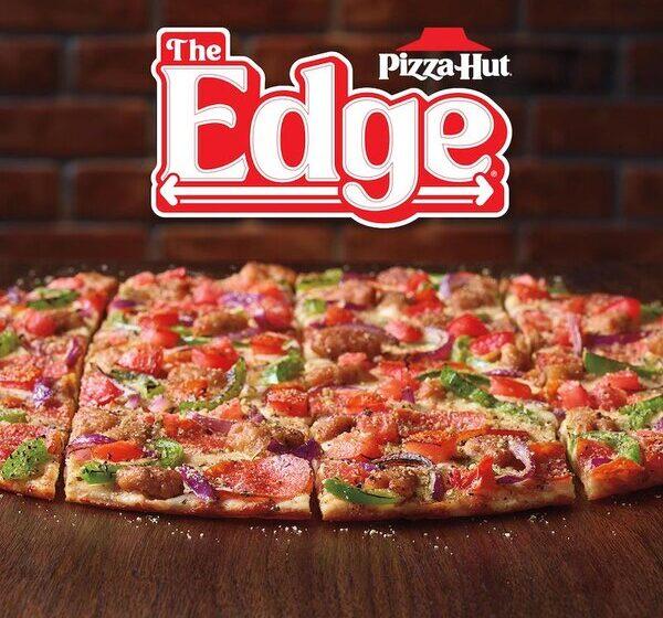 Pizza Hut celebra gli anni 90 con il ritorno della The Edge Pizza