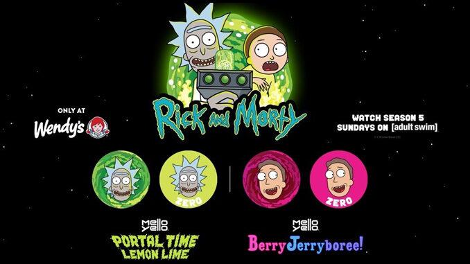 Wendy's celebra la quinta stagione di Rick & Morty con due nuove soda