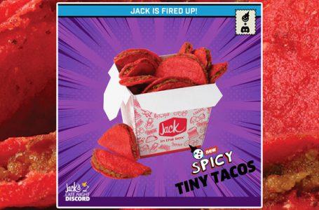 I nuovi mini tacos piccanti di Jack In The Box