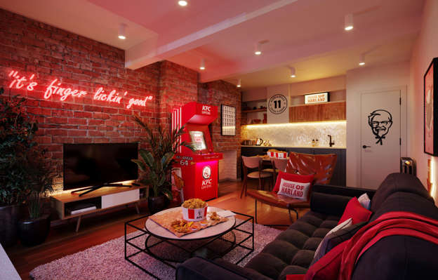KFC apre un Pop-Up Hotel a Londra