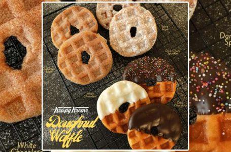 Waffles e donuts insieme? Da Krispy Kreme Indonesia sì