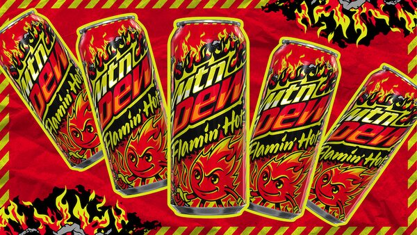 Mountain Dew lancia una limited edition rovente