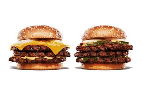 Burger King Giappone lancia due nuovi panini estremi