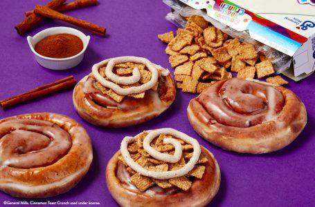 Krispy Kreme lancia i suoi primi Cinnamon Rolls