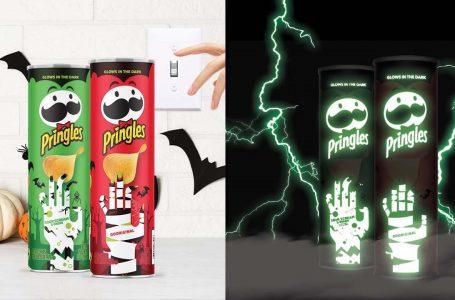 Il primo tubo di Pringles che si illumina al buio